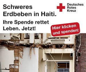 Erdbeben in Haiti - Spende jetzt beim roten Kreuz